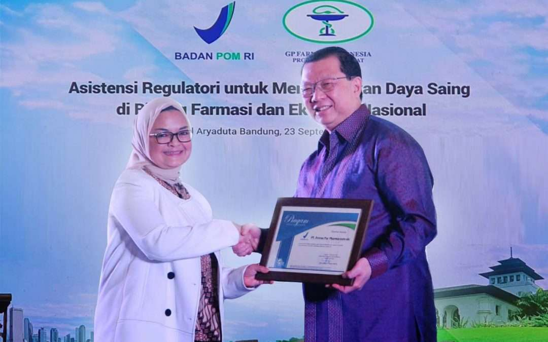 Appreciation from the POM RI for Proactively Implementing Government Provisions