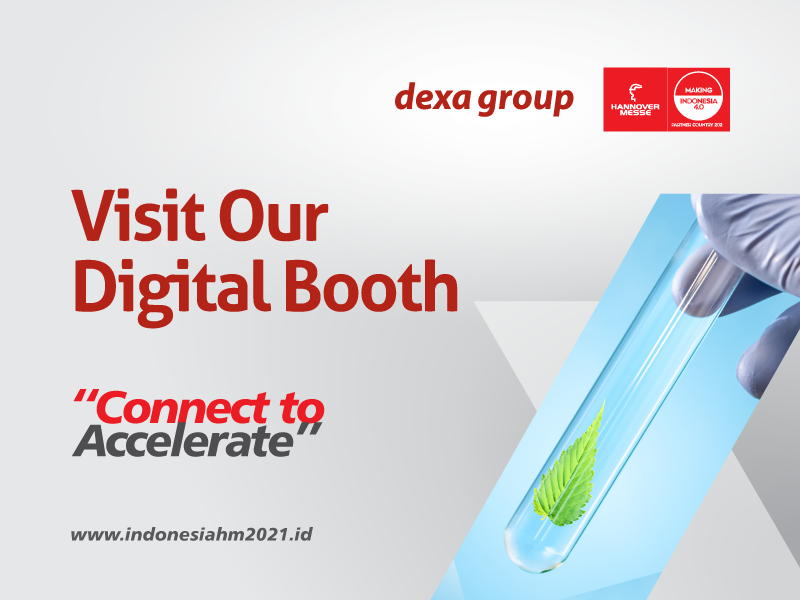 Indonesia Indigenous Modern Medicine from Dexa Group is increasingly known to the world through Hannover Messe 2021
