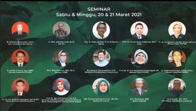 PIT PDHMI: Indonesia Indigenous Modern Medicine Proven Preclinically and Clinically for Disease Treatment