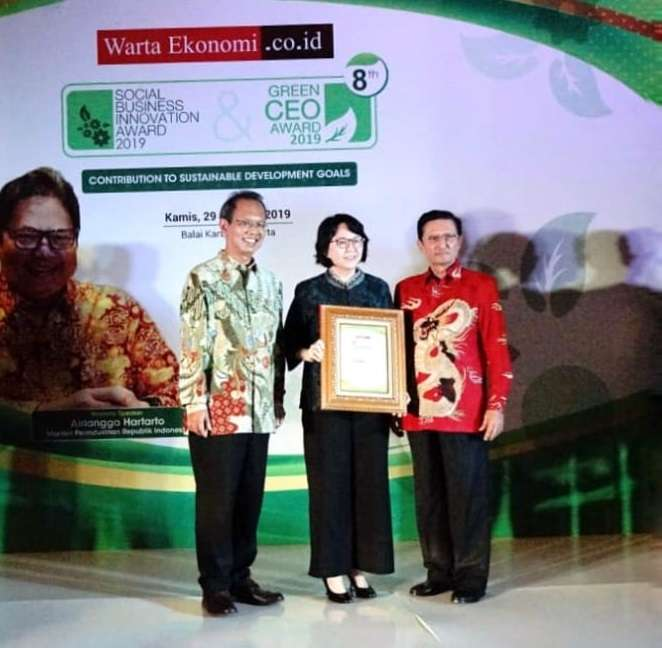 Dharma Dexa Scoops the Social Business Innovation and Green CEO Award 2019