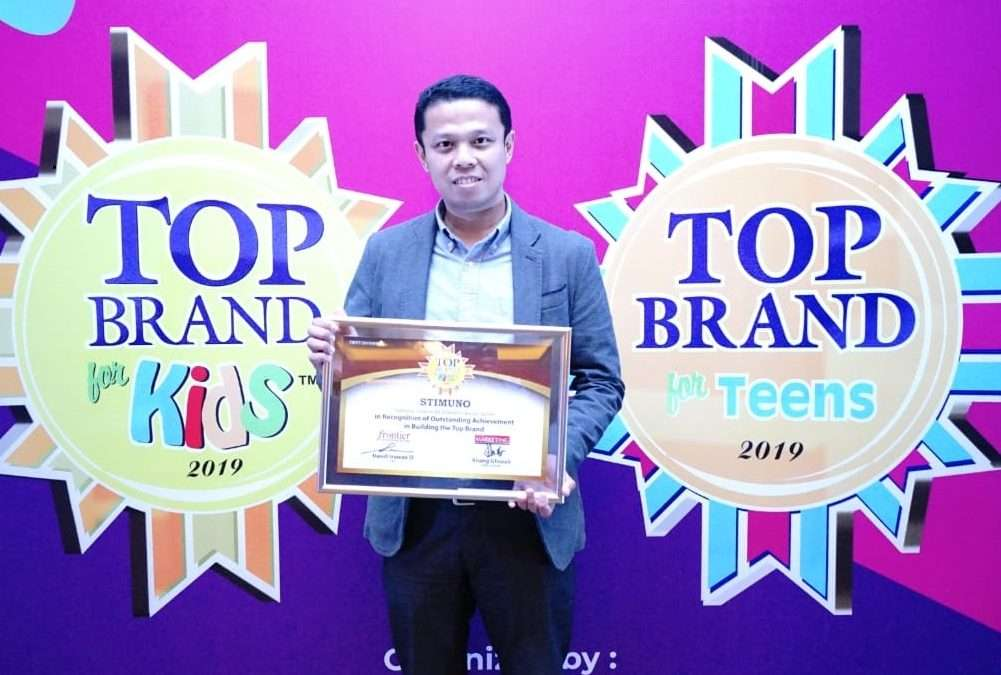STIMUNO Wins the Tenth Top Brand for Kids