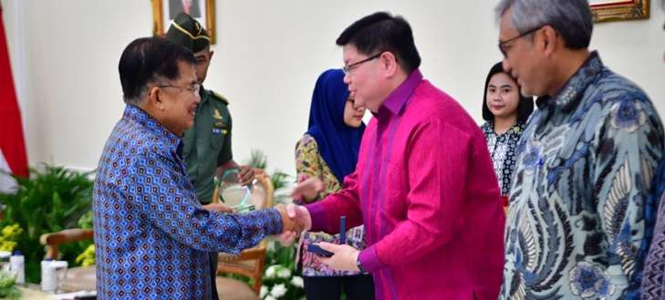 Vice President of Indonesia Presented WIPO Award 2018 to DLBS Executive Director
