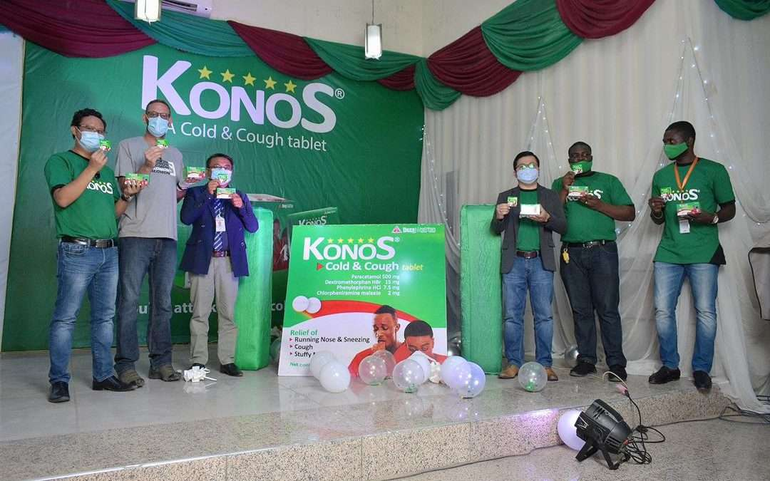 Dexa Medica Launches Konos: Double Attack Agains Cold and Cough