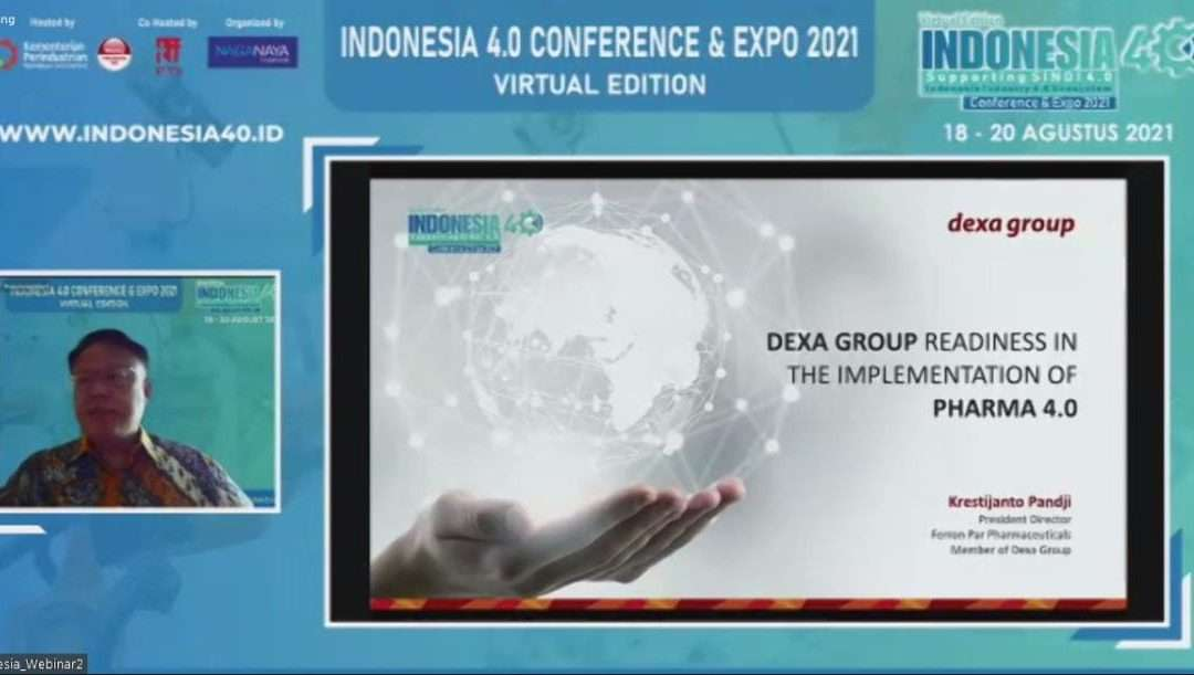 Government Appreciates Industry 4.0 Implementation by Dexa Group